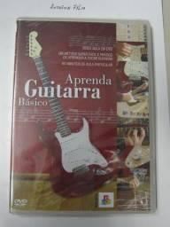 Aprenda Guitarra Basico Dvd Video Aula Novo Lacrado - Prof Evandro Pichirilli