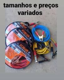 Cabo para transferência de carga de bateria
