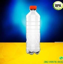 GARRAFA PET 500 ml + TAMPA