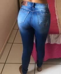Vendo Calça jeans com lycra NOVA