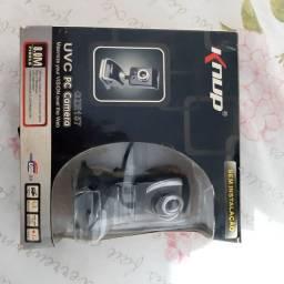 Webcam zerada na caixa