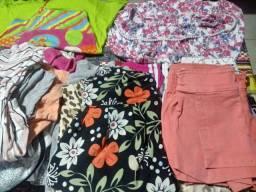 100 Lote de roupas pra meninas