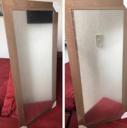 Espelho com Moldura 80x40cm *Novo