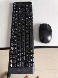 Teclado e mouse Wireless Logitech