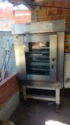 Forno turbo de 8 assadeira