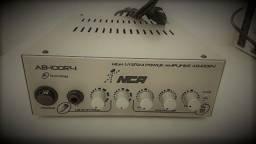 Amplificador 100ws rms em 4 ohms som absurdo! veja video