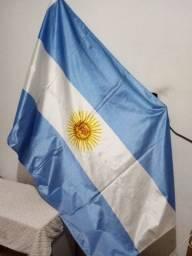 Bandeira Oficial da Argentina 90x128 2 panos