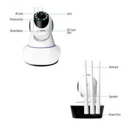 Câmera Robô 3 Antenas Ip Wifi com rotação 360º 720p Pronta entrega