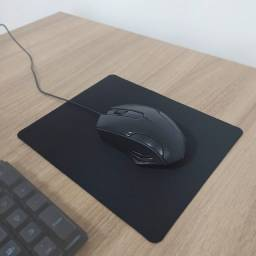 Mouse pad pequeno gamer 18*20cm Ecens