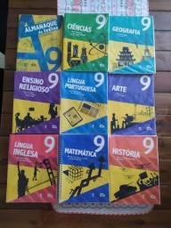 Livros 9° ano colégio adventista Seminovos e encapados (todos inclusos)