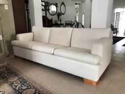 Sofá de linho alto padrão