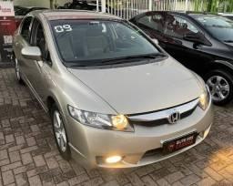 Civic 1.8 LXS Aut 2009 | Impecável | Ac trocas e financiamos