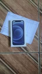 Iphone 12 128 gb preto lacrado nacional  nota fiscal