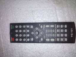 Controle remoto do DVD Lenox Modelo YG