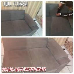 Higienize seu sofá e ganhe 20% no próximo Item.