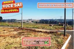 Terrenos em Ponta Grossa/PR - Parcelas R$421,45 - leia a discrição!!!