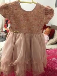 Vestido de luxo infantil