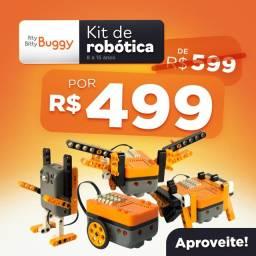 Kit de Robótica Buggy Crianças de 8 a 14 anos - Novo - Nota Fiscal - Garantia