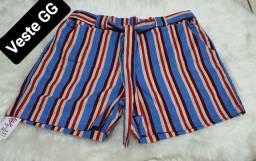 Shorts Femininos Plus Size