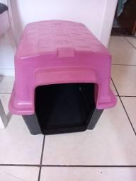 Casinha n 01 com tapete higienico