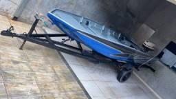 Canoa 5 metros borda alta