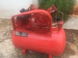 Compressor de ar industrial 10 pes