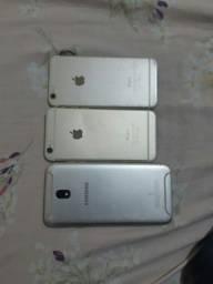 Vendo dois IPhone e um j7 pro