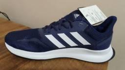Tenis adidas Falcon masculino azul 41 original novo