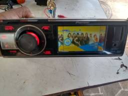 DVD Pioneer com controle remoto