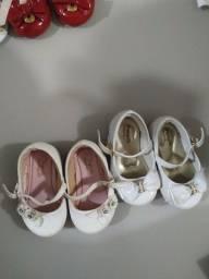 Lote 4 pares de sapatos pampilli