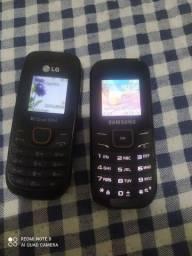 Dois celular sem carregador