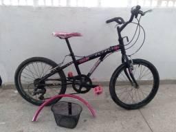 Bicicleta feminina infantil em ótimo estado 7  marchas