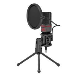 Noobi - Microfone Gamer Redragon Seyfert - GM100