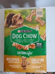 Vendo petisco Dog Chow Adultos minis e pequenos 500 gr