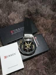 Relógio curren de luxo