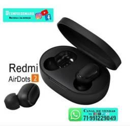 Fones De Ouvido Airdots Xiaomi Redmi Bluetooth Sem Fio Original
