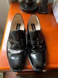 Sapato de verniz masculino