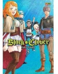 Mangá Black Clover Volume 5