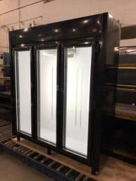 __ Geladeira 3 portas auto serviço para frios e laticinios