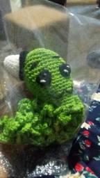 Peças de crochê em amigurumi