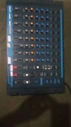 Mesa de som oneal 8 canais