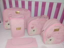 Kit de bolsas de bebê ( Menina Ursinha)