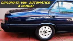 Opala Diplomata 1991 Automático Completo 6 Cilindros Gasolina