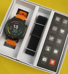 Troco por celular, smartwatch novo, lacrado