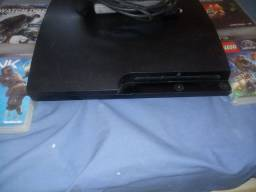 PS3,500GB,1CONTROLE,E CABOS E JOGOS
