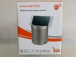 Caixa de Som Portátil H'maston Q3 ( Original / Não Aceite Imitações!!! )