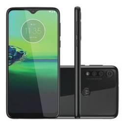Motorola G8 play na caixa