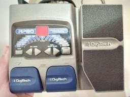 Pedaleira Digitech RP80 Semi-nova
