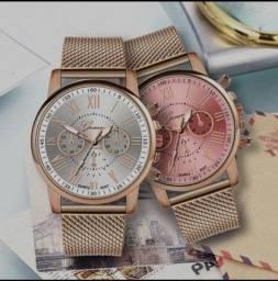 Relógio lindo e barato, funcionando pra você!