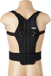 colete corretor  magnético de postura lombar costas coluna